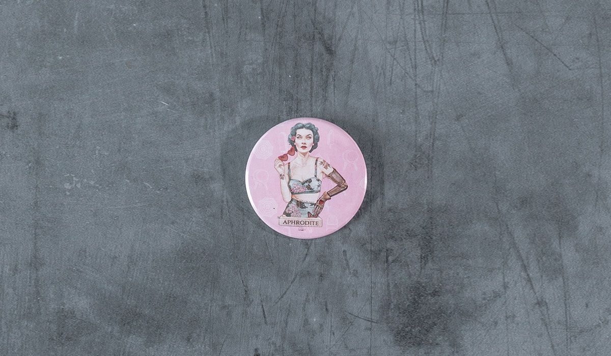 Aphrodite Magnet/Bottle Opener - The 'Wise Reinvented' Series