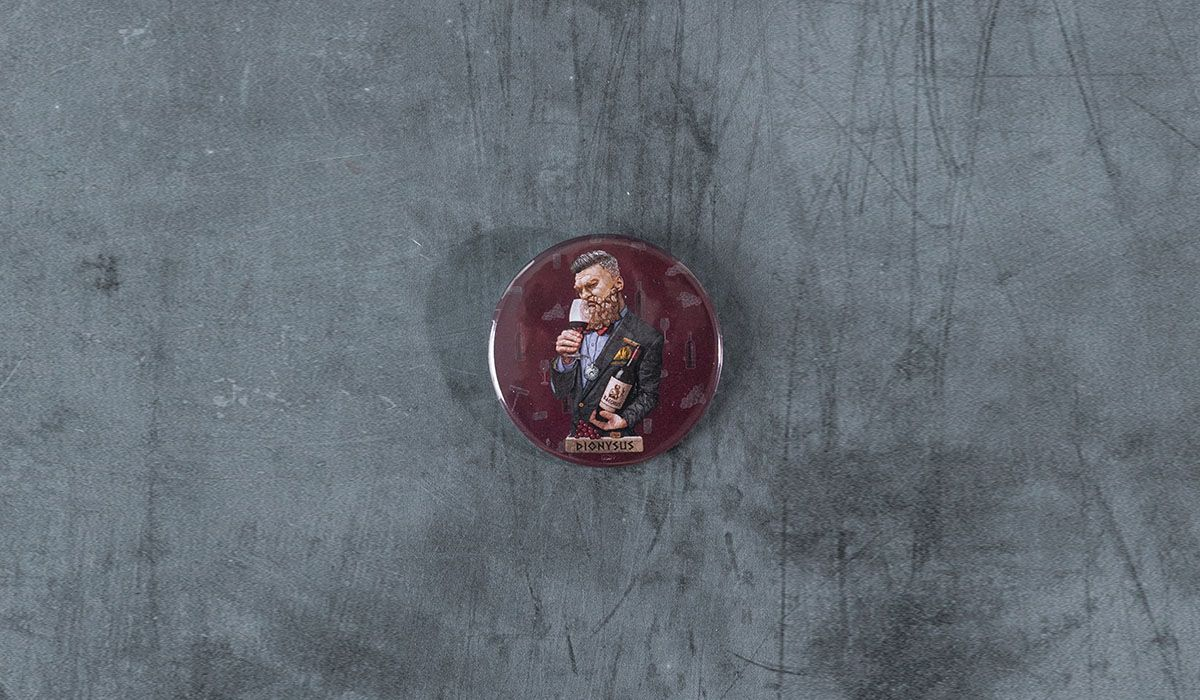 Dionysus Pin - The 'Wise Reinvented' Series
