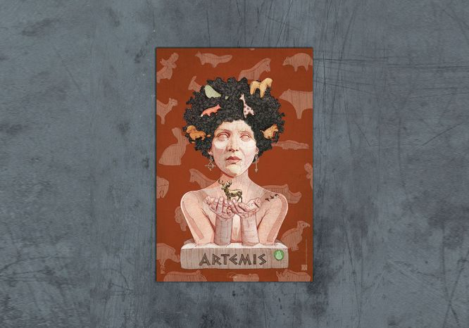 Artemis Poster - The 'Wise Reinvented' Series