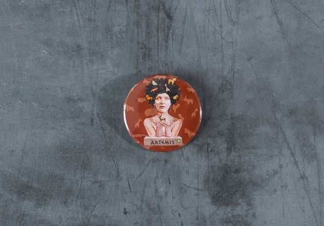 Artemis Pin - The 'Wise Reinvented' Series