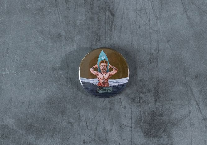 Poseidon Magnet/Bottle Opener - The 'Wise Reinvented' Series